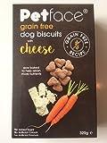 Petface Korn gratis Hund Hundekuchen mit Käse 320g
