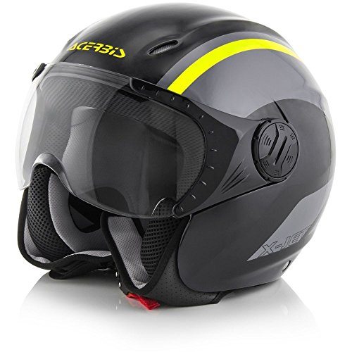 Acerbis casco k-jet nero/giallo s
