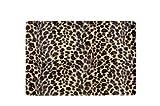 Bazoo selbstklebende Notebook-Dekofolie Leopard für Notebooks bis 30 cm/12 Zoll