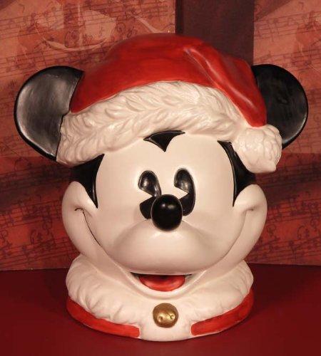 """Corporation Enesco (ENESCO Disney-Spieluhr 291382 - Rarität """"Mickey Santa Musical"""", ein Highlight für alle Sammler und das ideale Geschenk für alle Disney-Fans)"""