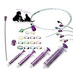 ABNOBA PET STORE Sterile Tube Feeding Kit 6 French (2.00mm) Medium & Large Breed Puppies Feeding Tube (Nutrisafe) 9