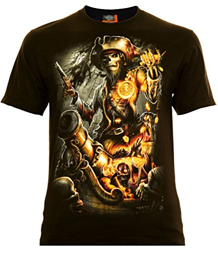 gle International Caribbean Pirates T-Shirt (2XL) (Classic Piraten)