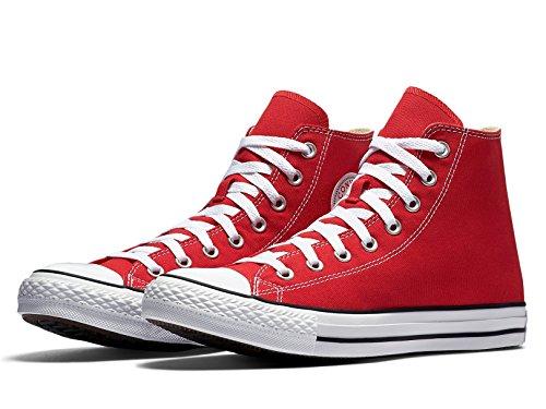 Converse Ctas Core Hi, Baskets mode mixte adulte Rot (Rot)