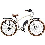 Electra Townie Commute Go Herren Elektro Fahrrad 28 Zoll Beach Cruiser Retro Rad 8 Gang Schaltung, 54602, Farbe Beige