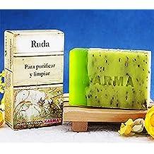 Jabón Ruda -Pastilla artesanal- Para purificar y limpiar