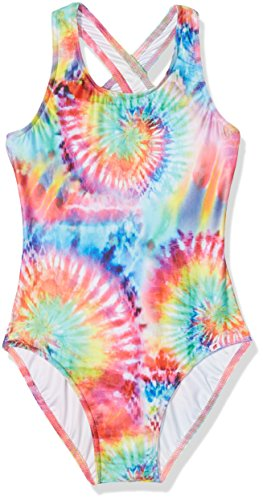 olympia-madchen-badeanzug-kids-maillot-de-bain-fille-mehrfarbig-multicolor-99-152-cm