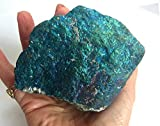CHALCOPYRITE BORNITE CRYSTAL Massive 1706g Bornite Crystal Calcopirite pavone rame ore 170mm ST73