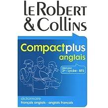 Le Robert & Collins Compact plus anglais : Dictionnaire français-anglais et anglais-français