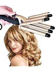 Store Extreme Plaque professionnelle à 5 tubes pour cheveux effet bouclé, vague, cheveux ondulés