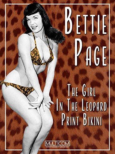 Bettie Page: The Girl in the Leopard Print Bikini [OV] Bettie Page Leopard