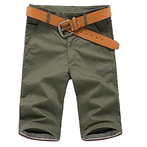 MORETIME Mens Summer Leisure Camouflage Patch Splash Ink Paint Point Printing Short Pants Kordel Regular