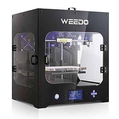 3D-Drucker Desktop montiert von WEEDO M2 Metallrahmen Struktur Single Extruder Plug-and-Play mit Luftfilter Filtration Geringe Geräuschentwicklung und Geruch