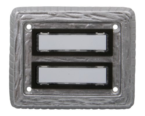 0021341 LM-Klingeltaster 2-fach, titan