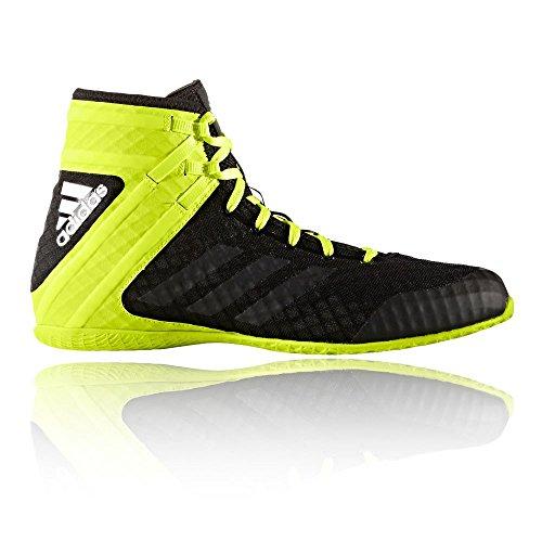 Adidas Botas de boxeo Speedex 16.1 - negro verde UK 7 - EU 40.5