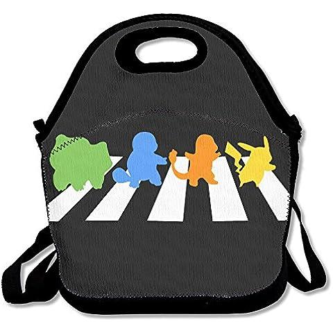 annda Abbey Road gimnasio neopreno bolsa para el almuerzo con correa para el hombro