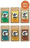 koawach Sommer-Probierset (6x120g): Kakao mit Koffein aus Guarana - Bio, vegan und fair gehandelt