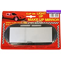 Clip on Car interior Mirror & Light