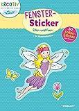 Fenster-Sticker Elfen und Feen: 24 Ausmalseiten, 30 Folien-Sticker (Malbücher und -blöcke)