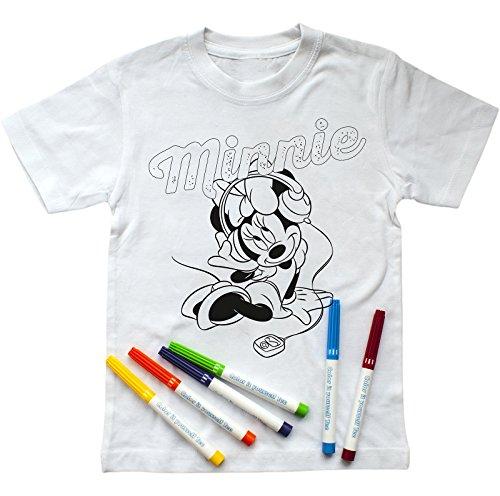 irt zum Ausmalen mit Minnie Mouse-Aufdruck, inkl. Stiften (122-128) ()
