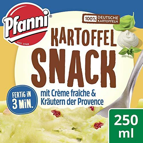 Pfanni Kartoffel Snack mit Creme Fraiche und Kräutern der Provence, 8er Pack (8 x 48 g)
