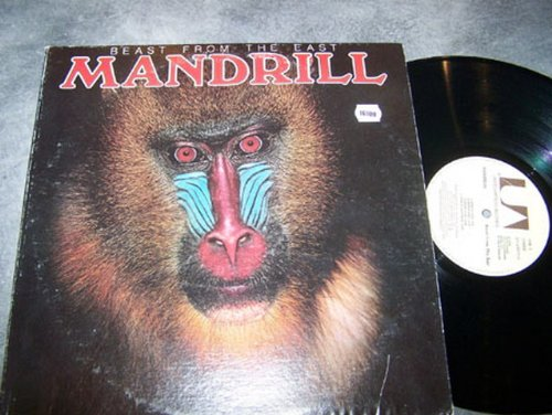 MANDRILL LP, BEAST FROM THE EAST, US ISSUE PRE-OWNED EX/EX CONDITION LP