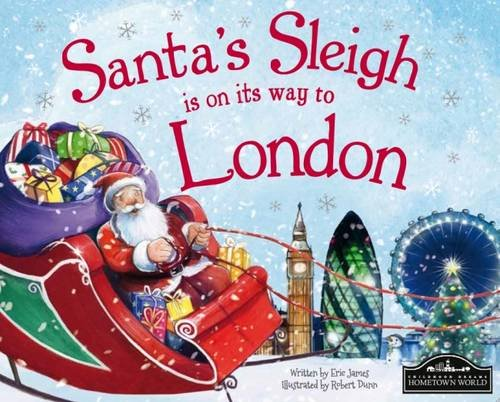 Santa's Sleigh is on its Way to London