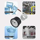 FairytaleMM Termometro quadrante TW-W53 Calibro capillare Temperatura 0-120C Sensore misuratore Acqua e Olio Termometro per Tester di stazioni meteorologiche