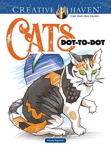 Somali-katze (Creative Haven Cats Dot-to-dot (Adult Coloring) (Creative Haven Coloring Book))