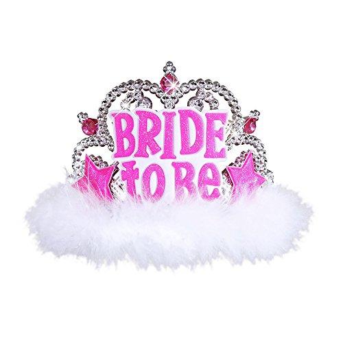 Braut Diadem Tiara Kopfschmuck JGA (Mom Kostüme)