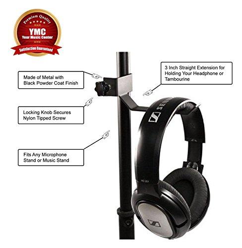 EF® Kopfhörer Tambourine Holder Kleiderbügel Clip für Mikrofon/Musik Ständer