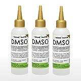 Angebot: DMSO Dimethylsulfoxid | 3 x 100 ml | 99,99 % (Ph. Eur.) | zertifiziert nach dem europäischen Arzneibuch | pharmazeutische Reinheit/Qualität | in spezieller geprüfter HDPE Tropferflasche | Qualität: MADE IN GERMANY