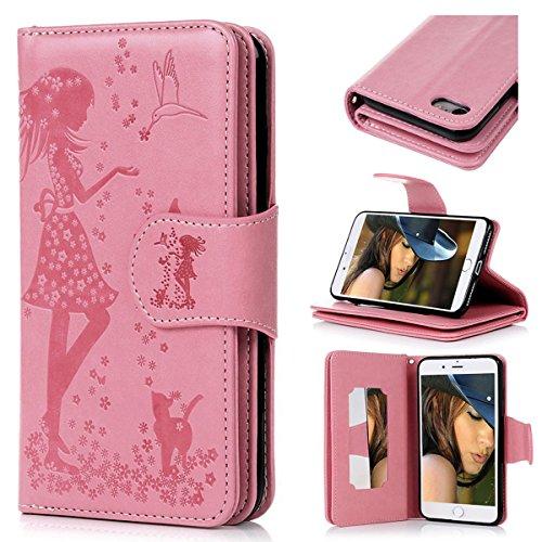 Handy-zubehör Apple Iphone Cover Schutzhülle Wallet Handytasche Flipcase Etui Leder Synthetisc Weich Und Leicht Geldbörsen & Etuis