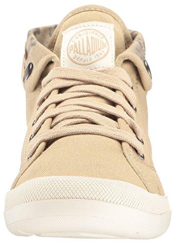 Palladium Damen Aventure Sneaker Beige (Sahara/Marshmallow/Floral Print)