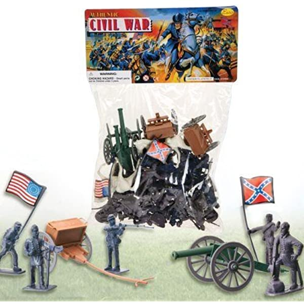 American Civil War Action Figures Bucket