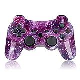 Controller PS3 Wireless mit Funktion DoubleShock und SIXAXIS für Playstation 3. (Lila)