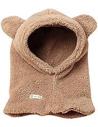 Bonnet écharpe Set Hiver à Capuche Unisexe Bébé Garçon Enfant Fille  Mignonne Kawaii Chaud Tricot Laine… 89fab1ed53c