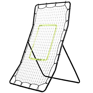 Fitnessclub Rebound Net For Baseball Tennis Football Rebounder Net Training Equipment With 4 Ground Nails Multi-Sport Net Playback Game Target Goal Review 2018