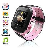 Orologi per bambine smartwatch per ragazze con localizzazione in tempo reale chiamata SOS di emergenza sveglia messaggi vocali orologio da polso per bambine il