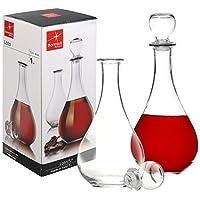 Bormioli Rocco Loto Glass Decanter for Wine Brandy Sherry Liqueur Alcohol Whisky