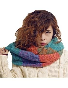 Heekpek® Bufanda Mujere de Punto Invierno Cálido Cuello de la Capucha del Mantón de la Bufanda