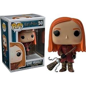 Funko Pop Ginny con la escoba / Quidditch (Harry Potter 50) Funko Pop Harry Potter