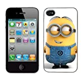 Cattivissimo me film caso si adatta iphone 4 & 4s copertina rigida (12) di protezione per il telefono Apple i despicable minions cover mobile case