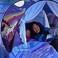 Kids Portable Tent,Mamum Kids Pop Up Bed Tent Mosquito Net Bedroom Festival Decoration Tent - low-cost UK light shop.