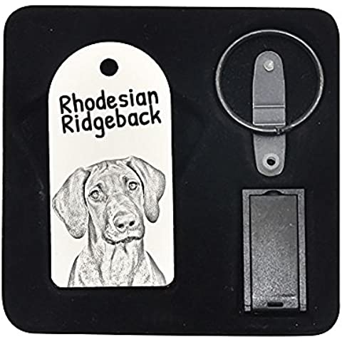 Rhodesian Ridgeback, 8GB de impulsión de la pluma, colgante con una imagen de un perro