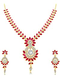 Sukkhi Incredible Gold Plated Collar Necklace Set For Women