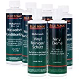 Blue Magic 4x Conditioner 236 ml + 1x Vinylreiniger + 1x Creme 4x Conditioner 236 ml + 1x Vinylreiniger + 1x Creme