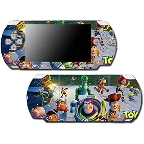 Toy Story 1 2 3 4 Buzz Lightyear Woody Mr Potato Head Rex Video Game Vinyl Decal Skin Sticker Cover for Sony PSP Playstation Portable Slim 3000 Series System by Vinyl Skin