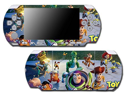 Toy Story 1 2 3 4 Buzz Lightyear Woody Mr Potato Head Rex Video Game Vinyl Decal Skin Sticker Cover for Sony PSP Playstation Portable Slim 3000 Series System by Vinyl Skin Designs