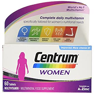 Centrum Multivitamin Tablets for Women, Pack of 60