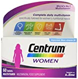 Centrum Multivitamin Tablets for Women, Pack of 60 - Best Reviews Guide